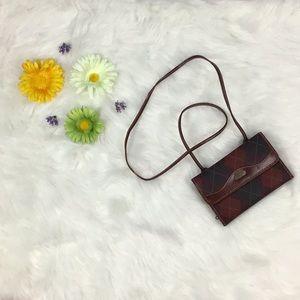 Vintage Carryland Plaid Mini Bag 🛍